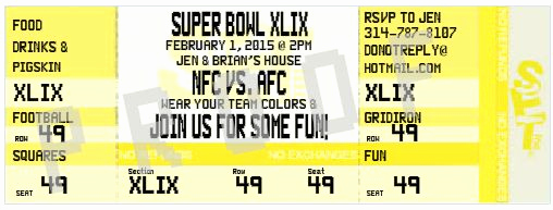Super Bowl Invitation Ideas Fresh Fun Superbowl Party Invitation Ideas – Aa Gifts & Baskets
