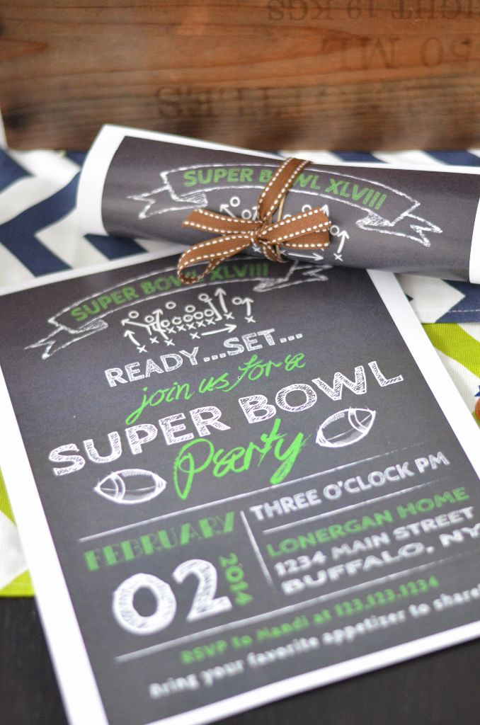 Super Bowl Invitation Ideas Lovely Seahawks Printable Invitations