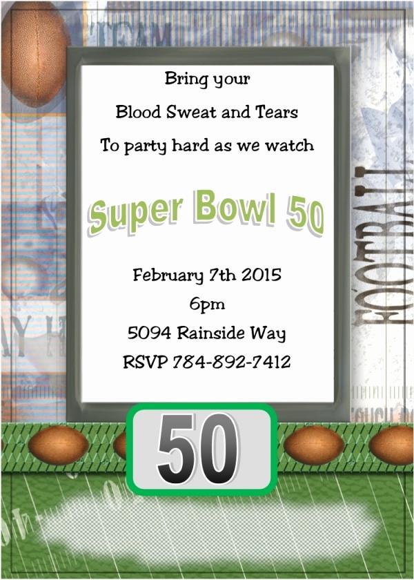 Super Bowl Party Invitation Template Beautiful 21 Super Bowl Invitation Designs Psd Vector Eps Jpg