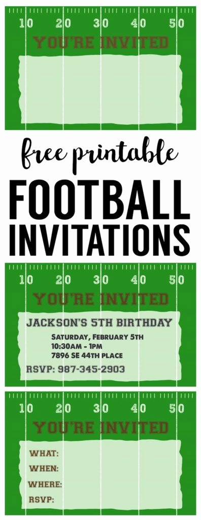 Super Bowl Party Invitation Template Lovely 25 Best Ideas About Football Invitations On Pinterest