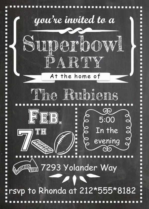 Super Bowl Party Invitation Template Luxury 21 Super Bowl Invitation Designs Psd Vector Eps Jpg