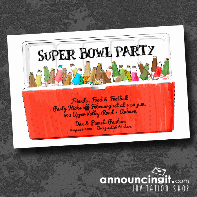 Super Bowl Party Invitation Wording Beautiful Announcingit Blog
