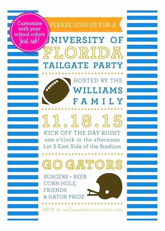 Super Bowl Party Invitation Wording Fresh Tailgate Party Invitation Wording