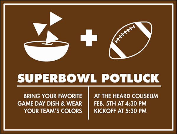 Super Bowl Party Invitation Wording Luxury 10 Potluck Party Invitations Psd Ai