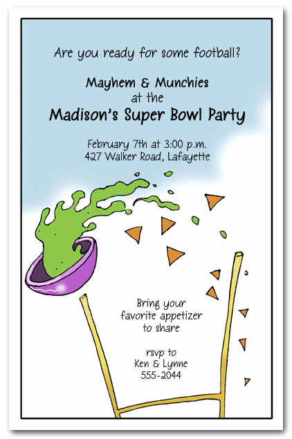 Super Bowl Party Invitation Wording Luxury Goalamoli Super Bowl Party Invitations