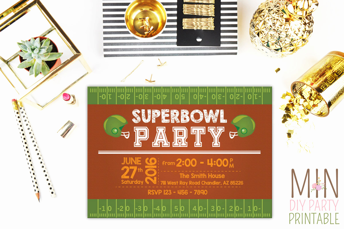 Superbowl Party Invitation Wording Awesome Super Bowl Party Invitation 3super Bowl Party Invitation