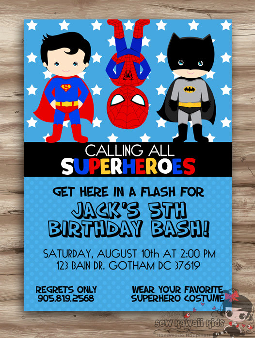 Superhero Baby Shower Invitation Templates Unique Superhero Birthday Invitation Superhero Invitation Birthday