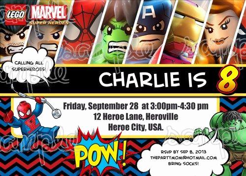 Superhero Birthday Invitation Template Inspirational Superhero Birthday Invitations Templates Free