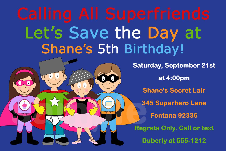 Superhero Birthday Invitation Wording Lovely Superhero Birthday Invitation Superhero Party by