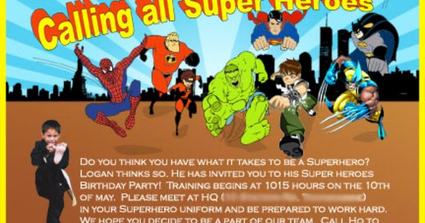 Superhero Birthday Invitation Wording Luxury Superhero Save the Date Invitations