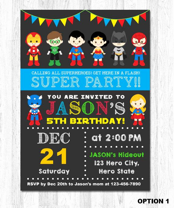Superhero Invitation Template Free Awesome Superhero Birthday Invitation Superhero Boy by Kidzparty