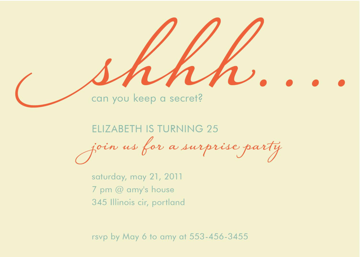 Suprise Party Invitation Wording Awesome Baptism Invitations Free Baptism Invitation Template