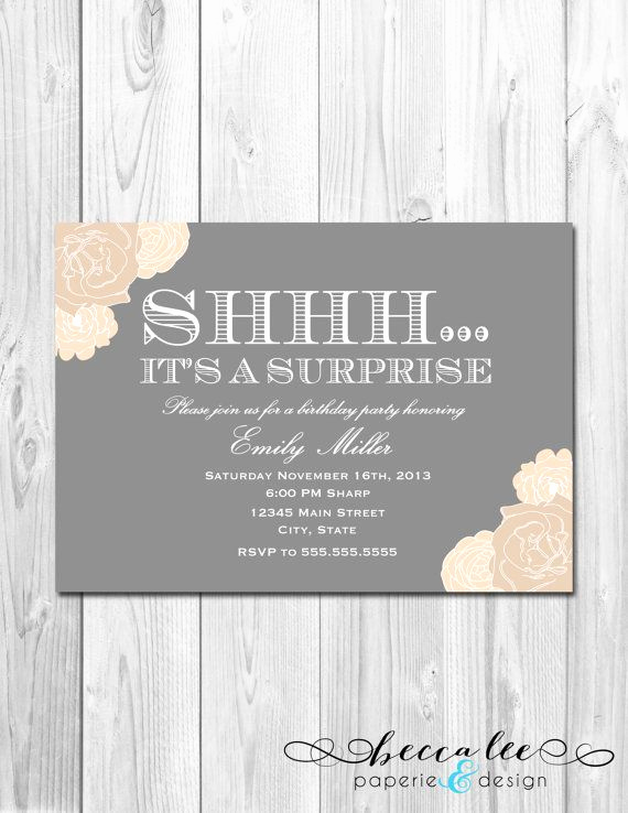 Suprise Party Invitation Wording New Best 25 Anniversary Party Invitations Ideas On Pinterest