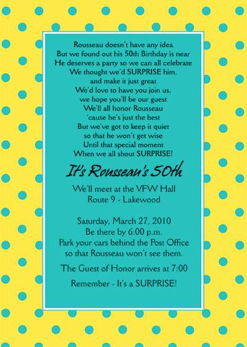 Suprise Party Invitation Wording New Surprise Party Invitation ⋆ Ipv Studio