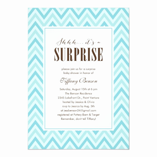 Surprise Baby Shower Invitation Awesome Surprise Baby Shower Invitations