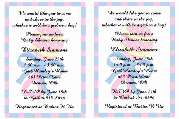 Surprise Baby Shower Invitation Fresh 34 Sample Invitation Templates Psd Ai