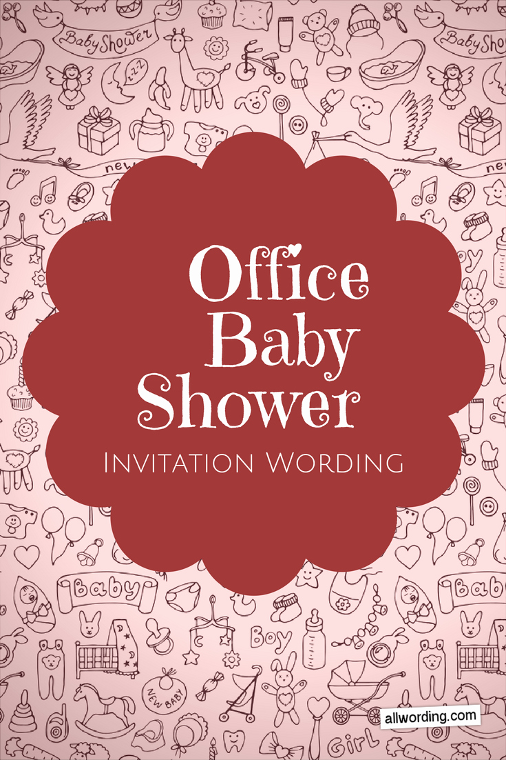 Surprise Baby Shower Invitation Lovely Fice Baby Shower Invitation Wording