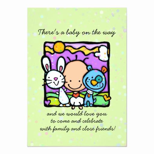 Surprise Baby Shower Invitation Luxury Surprise Baby Shower Invitation Bunny Puppy Hearts