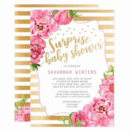 Surprise Baby Shower Invitation Wording Inspirational Surprise Baby Shower