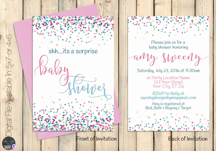 Surprise Baby Shower Invitation Wording Luxury Best 25 Surprise Baby Showers Ideas On Pinterest