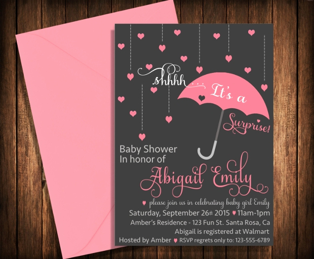 Surprise Baby Shower Invitation Wording New 35 Baby Shower Invitations Psd Ai Word Eps