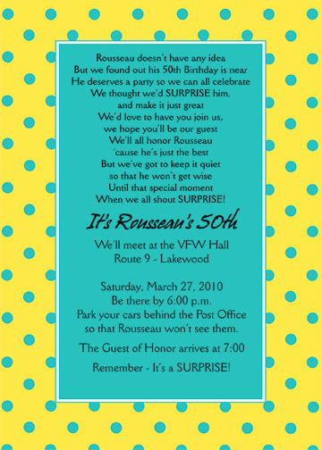 Surprise Birthday Invitation Wording Unique Surprise Party Invitation ⋆ Ipv Studio