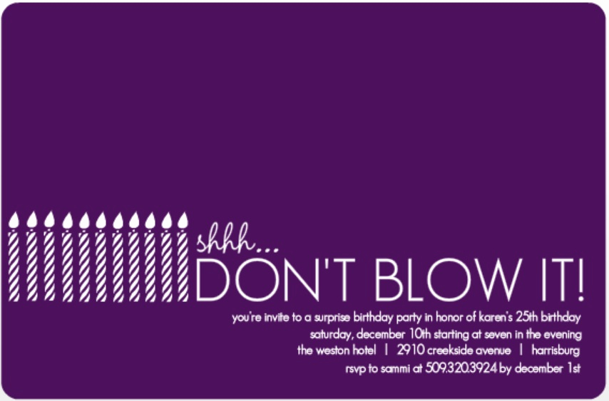 Surprise Party Invitation Wording Awesome Surprise Party Invitation Wording Ideas From Purpletrail