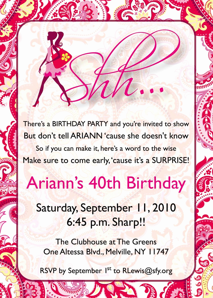 Surprise Party Invitation Wording Inspirational Surprise 80th Birthday Sayings