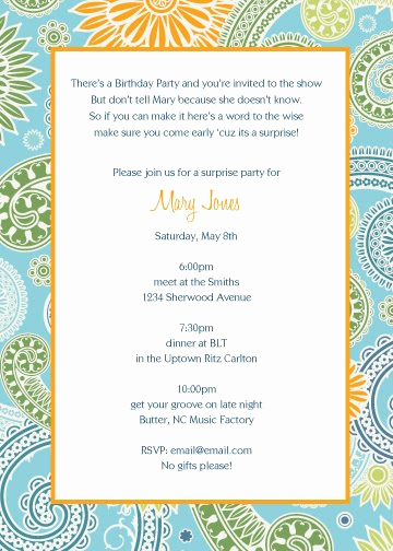 Surprise Party Invitation Wording Unique Party Invitation Quotes Image Quotes at Relatably
