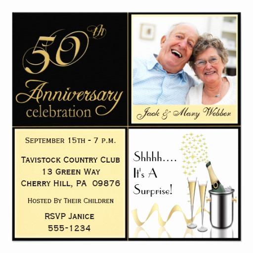 Surprise Wedding Invitation Wording Inspirational Surprise Golden Wedding Anniversary Invitations 5 25