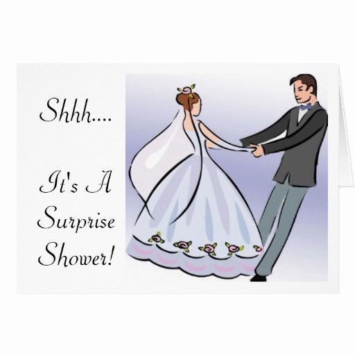 Surprise Wedding Invitation Wording New Bridal Wedding Shower Invitation It S A Surprise Greeting