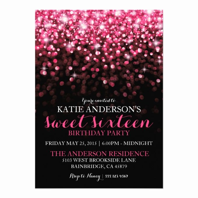 Sweet 15 Invitation Cards Awesome 17 Best Images About Sweet Sixteen Invitations On