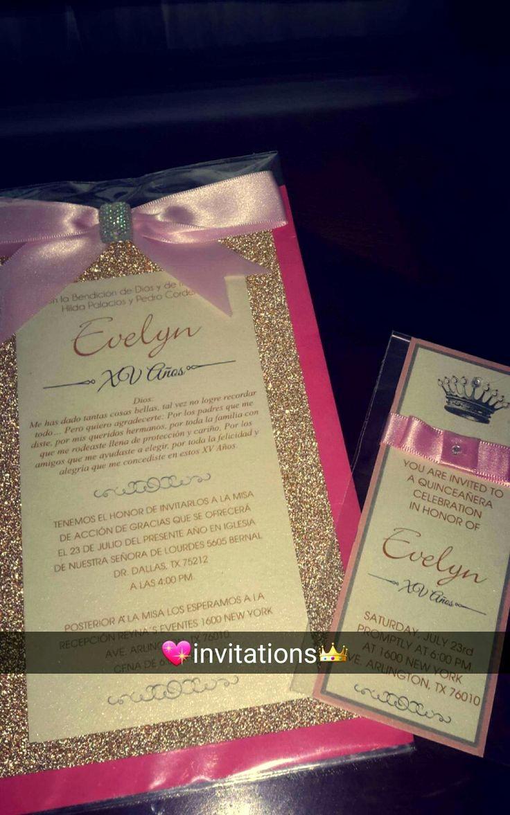 Sweet 15 Invitation Ideas Luxury 1000 Ideas About Sweet 15 Invitations On Pinterest