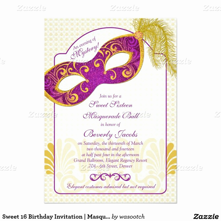 Sweet 16 Invitation Ideas Beautiful 7 Best Images About Invitation Ideas On Pinterest