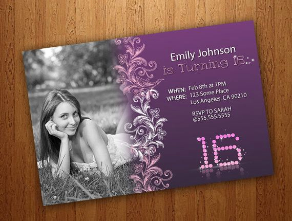 Sweet 16 Invitation Ideas Elegant 182 Best Images About Sweet Sixteen On Pinterest