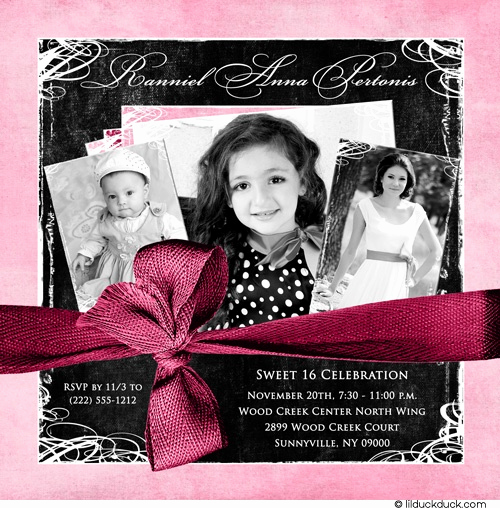 Sweet 16 Invitation Ideas Fresh 25 Best Ideas About Sweet 16 Invitations On Pinterest