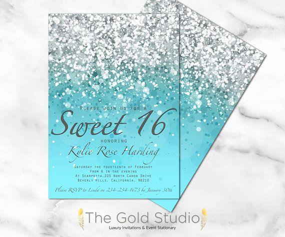 Sweet 16 Invitation Ideas Fresh Best 25 Sweet Sixteen Ideas On Pinterest