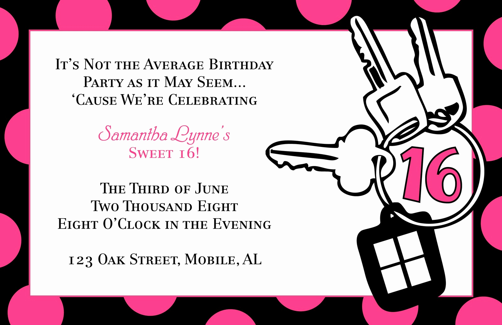 Sweet 16 Invitation Template Awesome Sweet 16 Invitation Quotes Quotesgram