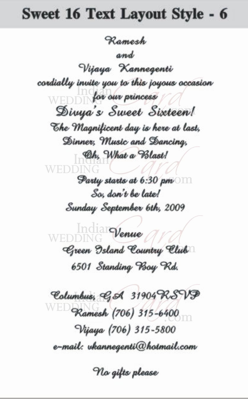Sweet 16 Invitation Wordings Awesome Scroll Wedding Invitations Scroll Invitations Wedding