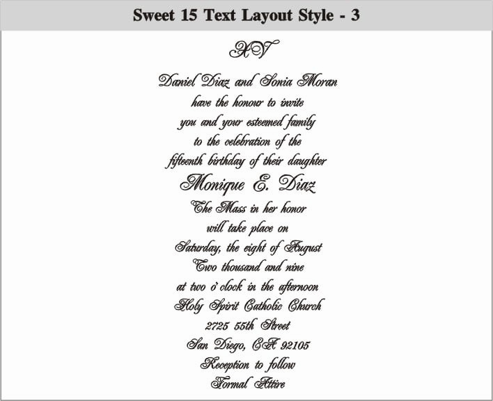 Sweet 16 Invitation Wordings Fresh Sweet 16 Invitation Wording