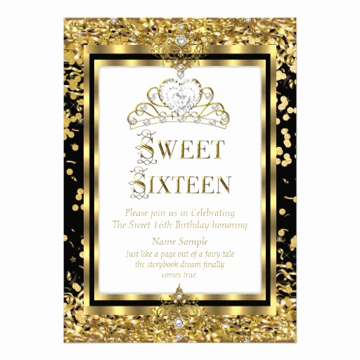 Sweet 16th Invitation Wording Beautiful 1000 Images About Elegant 16th Birthday Party Invitations