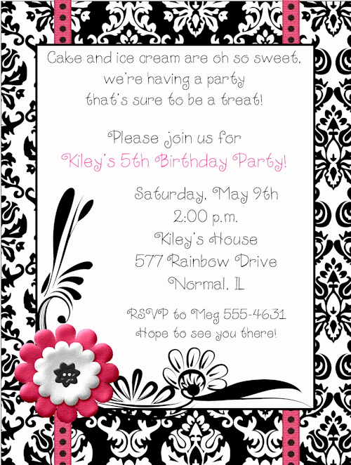 Sweet 16th Invitation Wording Inspirational Sweet Sixteen Birthday Invitations Wording