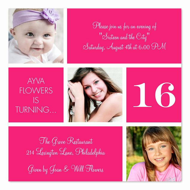Sweet 16th Invitation Wording New 16 Best Party Invitations for Teens Images On Pinterest