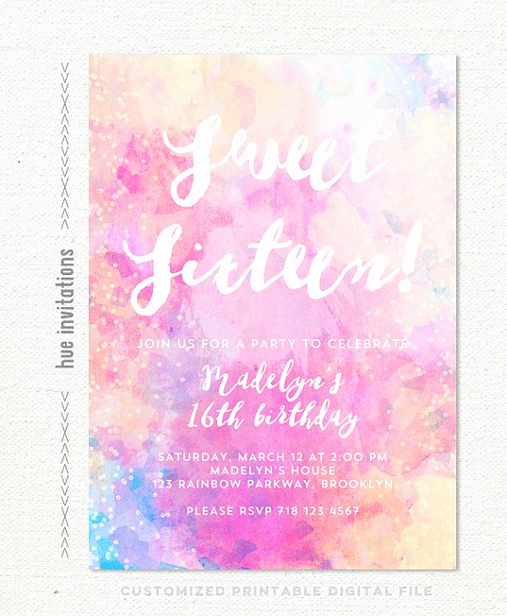Sweet 16th Invitation Wording New 17 Best Images About Emily S Sweet Sixteen On Pinterest
