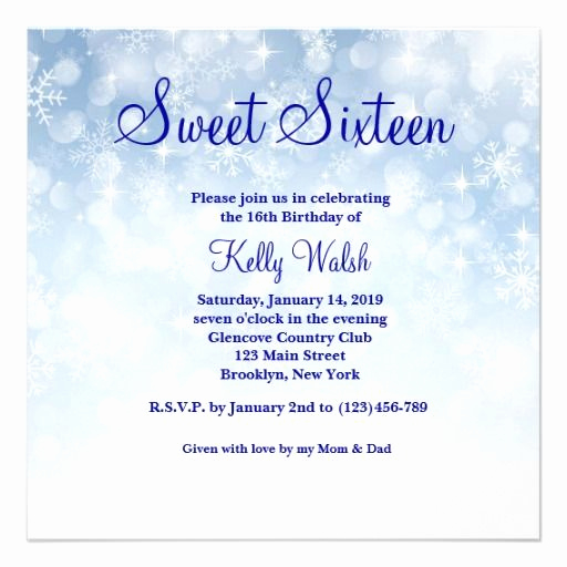 Sweet Sixteen Invitation Ideas Fresh 15 Best Sweet 16 Invitations Images On Pinterest