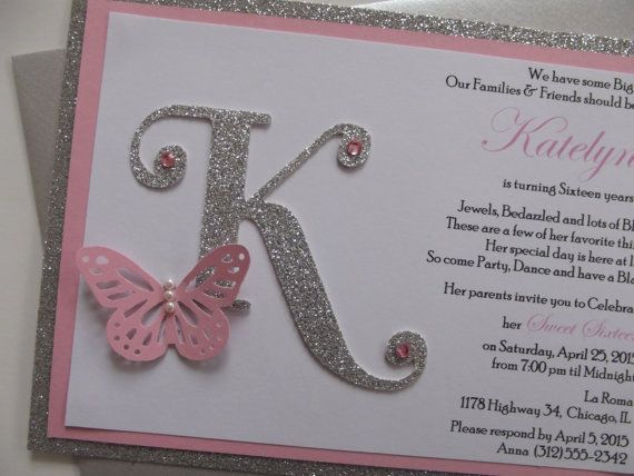 Sweet Sixteen Invitation Ideas Fresh Best 20 Sweet 16 Invitations Ideas On Pinterest