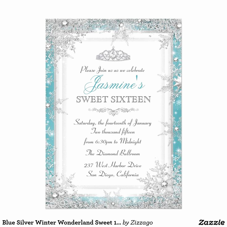 Sweet Sixteen Invitation Ideas Unique 233 Best Winter Wonderland Sweet 16 Ideas Images On