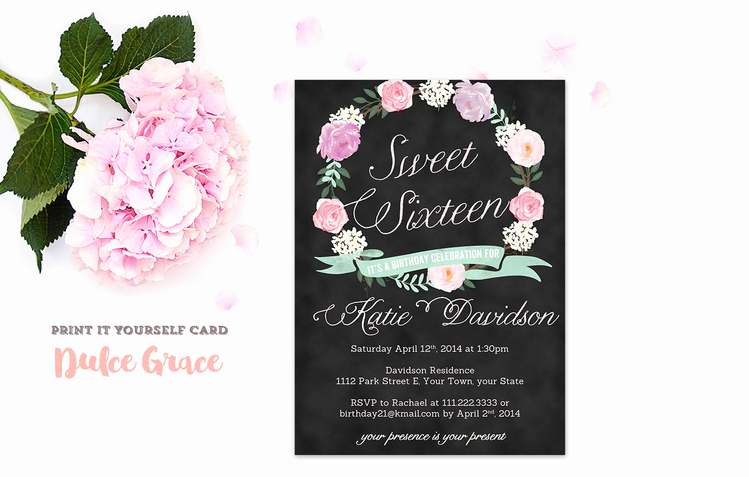 Sweet Sixteen Invitation Template Best Of Sweet Sixteen Invitations Sweet 16 Invitation Printable
