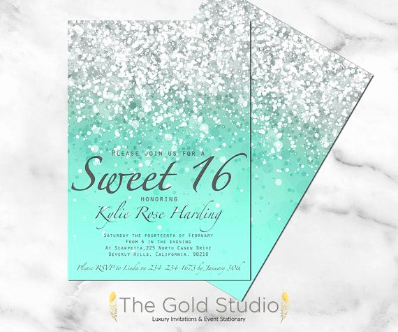 Sweet Sixteen Invitation Template Luxury 17 Best Ideas About Sweet 16 Invitations On Pinterest