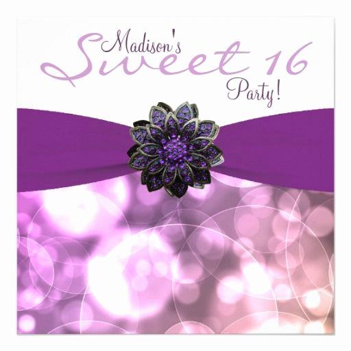 Sweet Sixteen Invitation Templates Inspirational 1000 Images About Sweet 16 Invitation Templates On